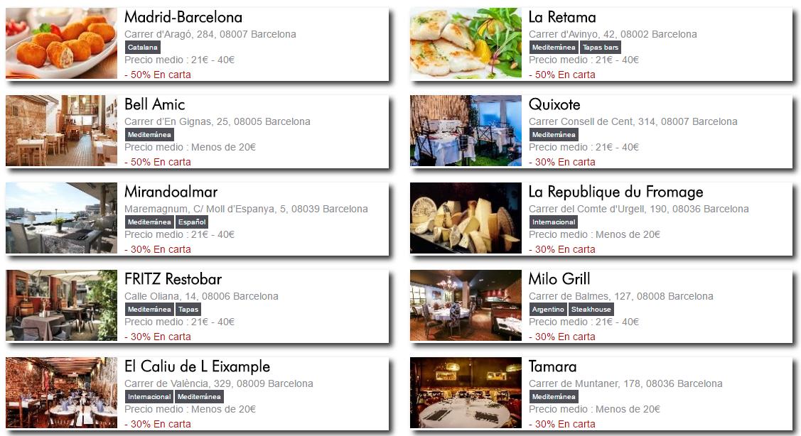 la guía de restaurantes de eatinout