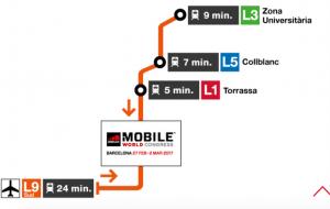 paradas de metro mobile